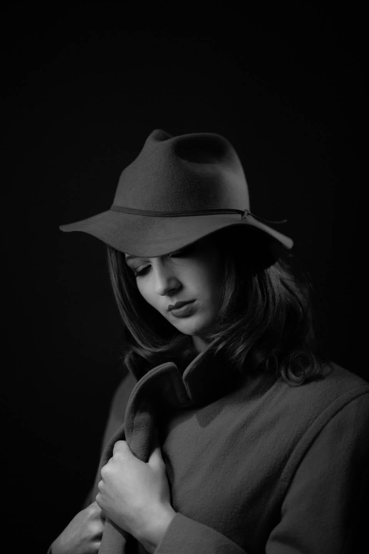 Ingrid Bergman style from our Black Diamond Studio