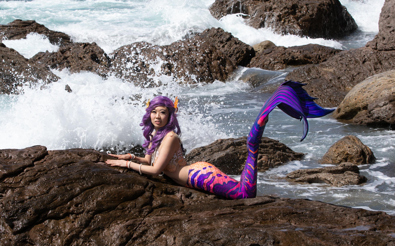 Cosplay Mermaid Mt Maunganui
