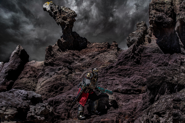 Dramatic shot Caustic Mount Maunganui