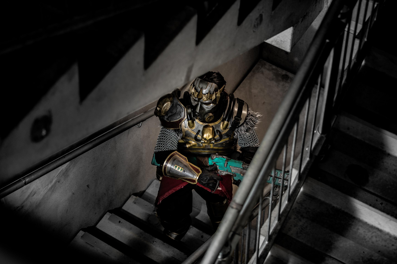 Stairwell Apex Legends Caustic