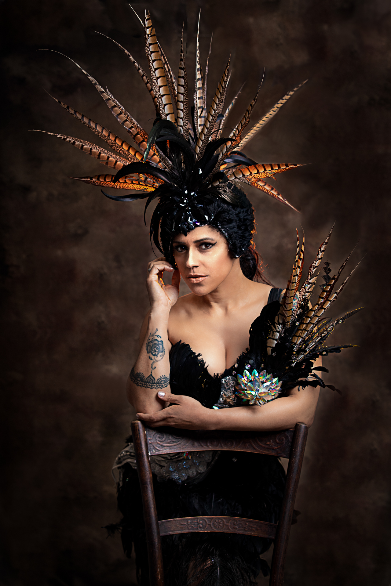 Black Diamond studio Portrait