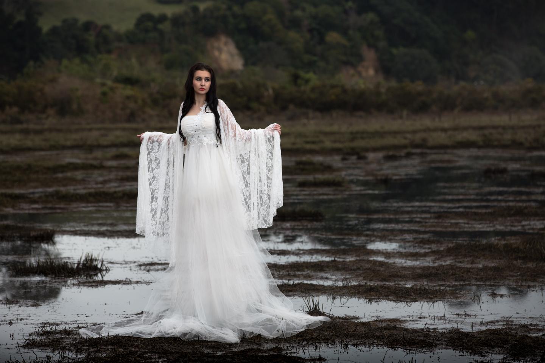 Swamp Bride at Te Puna
