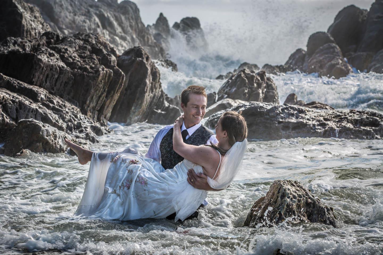 wedding Mount Maunganui beach