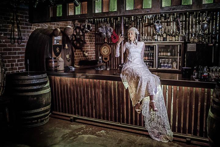 Speak-easy bride Old Mill Napier