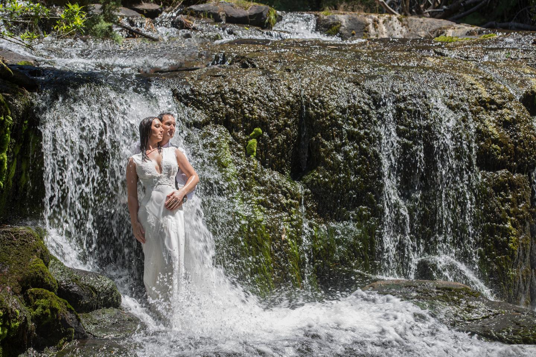 Waterfall marriage