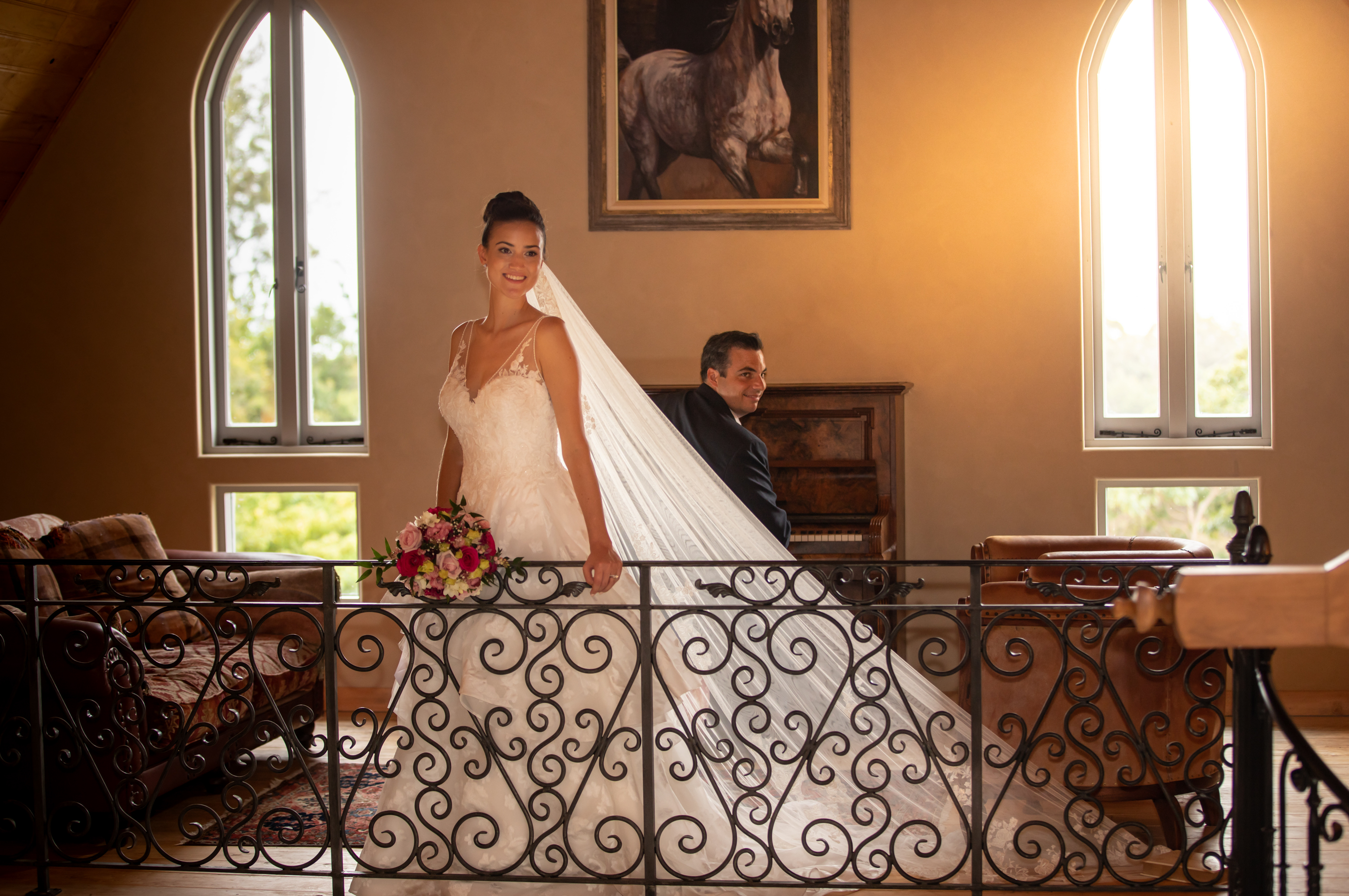 Wedding day style at French Country House