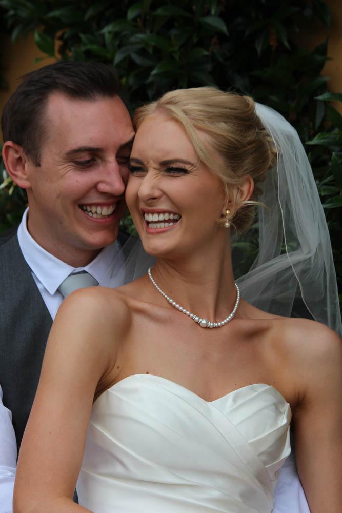 happy couple at Fountain Gardens Venue