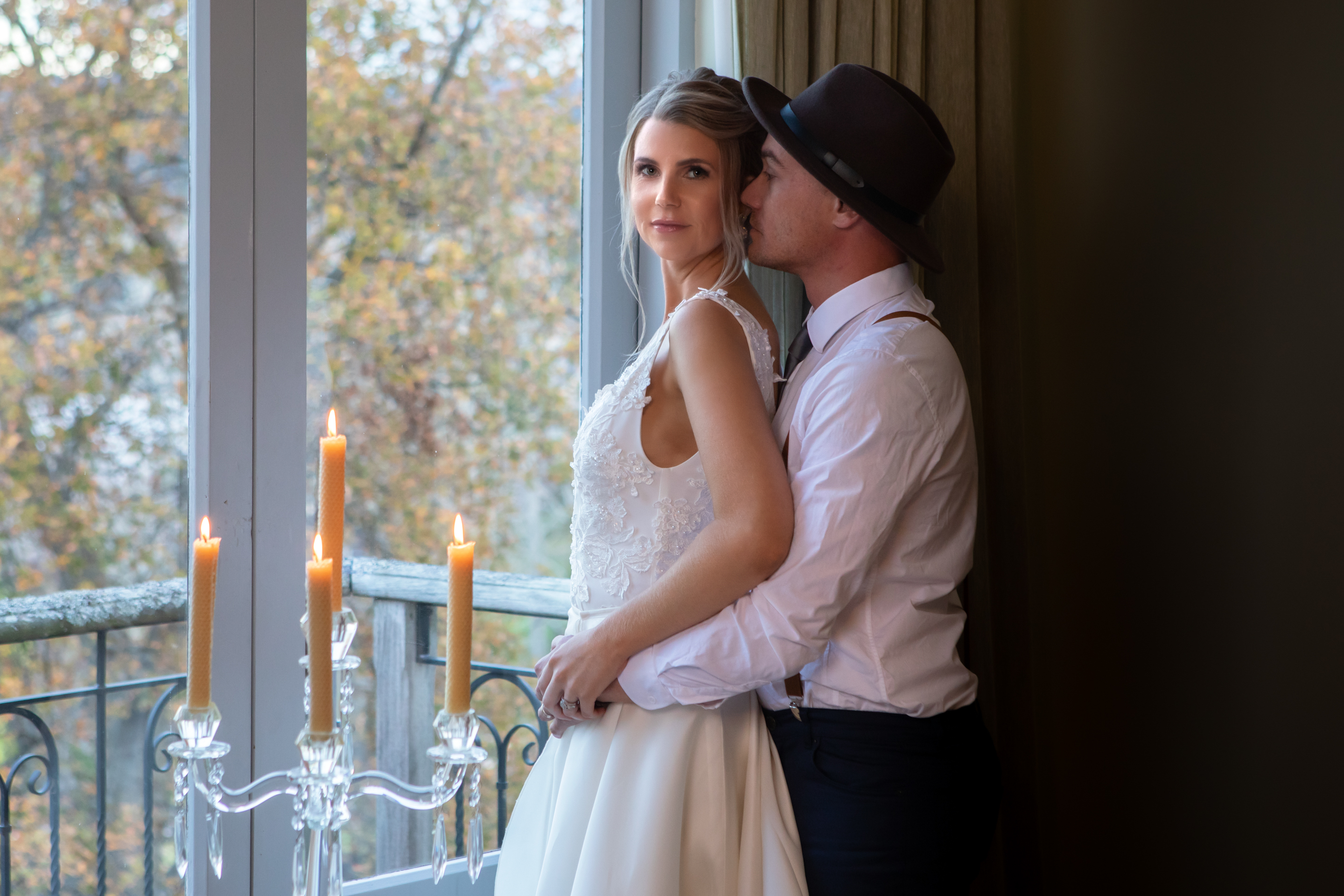 Grooms whispers of love French Country House Tauranga