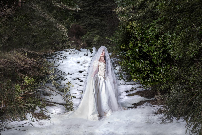 ICE QUEEN BRIDE at Mount Ruapehu